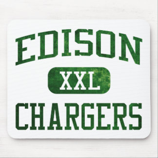 Edison Chargers Athletics Mouse Pad