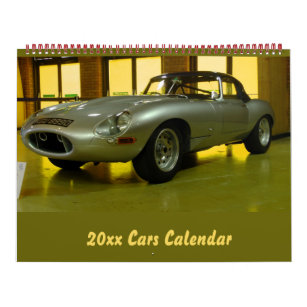 Car Calendars   Zazzle co nz