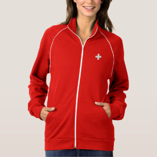 Editable background Color, The Flag of Switzerland Jacket