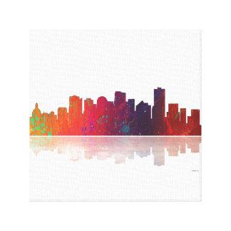 Edmonton Canada Skyline Canvas Print