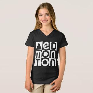 Edmonton Puzzle Girls V-neck T-Shirt