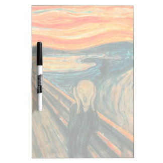 EDVARD MUNCH - The scream 1893 Dry Erase Board