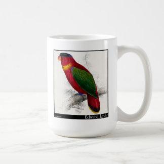 Edward Lear's Black-Capped Lory Coffee Mug