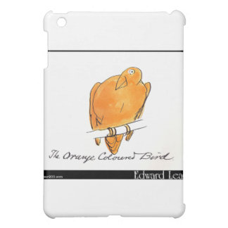 Edward Lear's Orange-Coloured Bird iPad Mini Covers