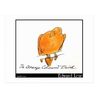 Edward Lear's Orange-Coloured Bird Post Card