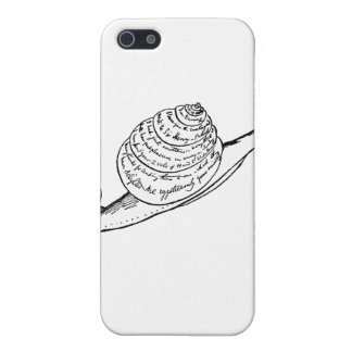 Edward Lear's Snail Mail iPhone 5/5S Case