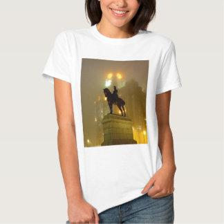 Edward V11 Statue, Pier Head, Liverpool UK T-shirts