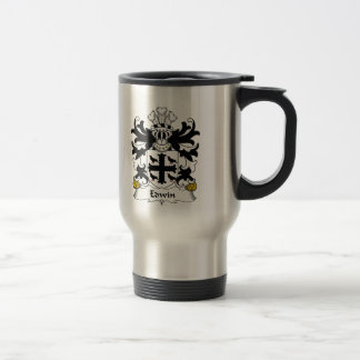 Edwin Family Crest Travel Mug