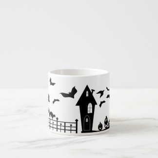Eerie Evening Espresso Cup