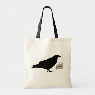 Eerie Raven Tote Bag/Trick or Treat Bag