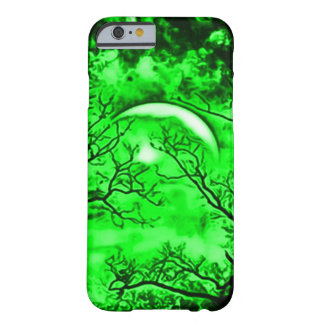 Eerie Witch Moon Airbrush Art Barely There iPhone 6 Case