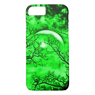 Eerie Witch Moon Airbrush Art iPhone 8/7 Case