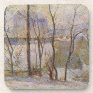 Effect of Snow - Paul Gauguin (1879) Coaster