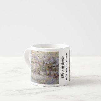 Effect of Snow - Paul Gauguin (1879) Espresso Mug