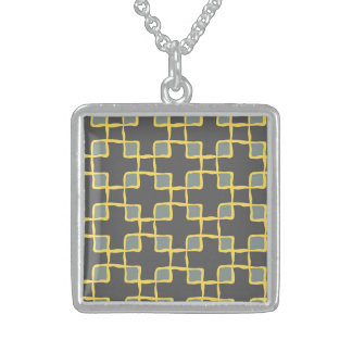 Effective Patient Engaging Thrilling Square Pendant Necklace