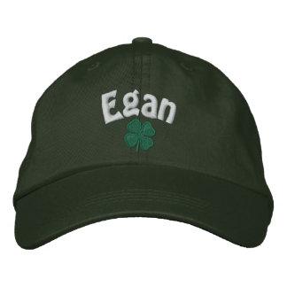 Egan - Four Leaf Clover Embroidered Hat