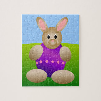 Egg Easter Bunny Jigsaw Puzzle