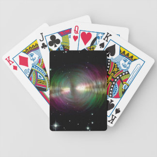 Egg Nebula - Space, Stars, Galaxy Bicycle Playing Cards