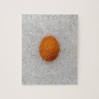 Egg with salt jigsaw puzzle