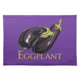 Eggplant Aubgergine Placemat