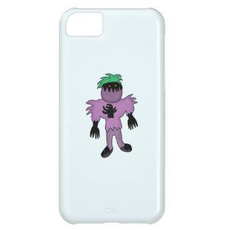 Eggplant monster iPhone 5C case