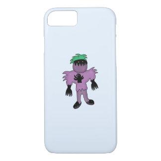 Eggplant monster iPhone 7 case