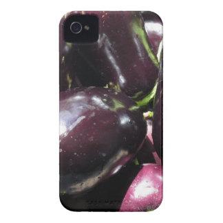 Eggplants background iPhone 4 case