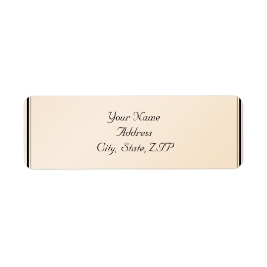 Eggshell Elegance Return Address