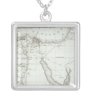 Egyopt and Palestine Silver Plated Necklace