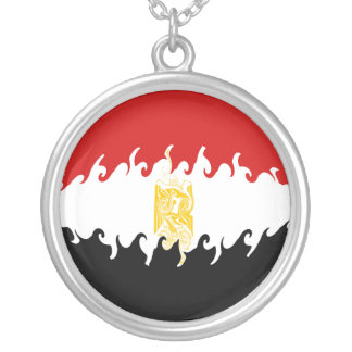 Egypt Gnarly Flag Custom Necklace