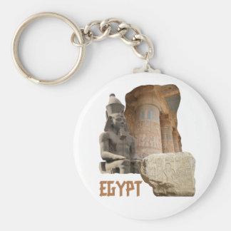 EGYPT photo collage keychain