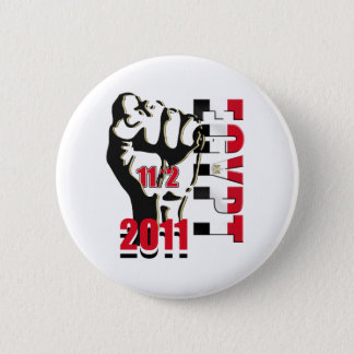Egypt Revolution Liberation 11th of February 2011 6 Cm Round Badge