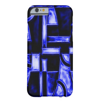 Egyptian Blue Temple Fractal Barely There iPhone 6 Case