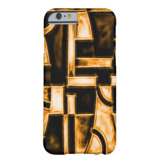 Egyptian Burning Temple Fractal Barely There iPhone 6 Case