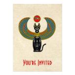 Egyptian Cat Goddess Personalized Invitation