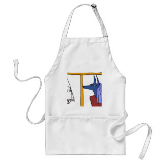 Egyptian God MEDJED and Anubis book of the dead Standard Apron
