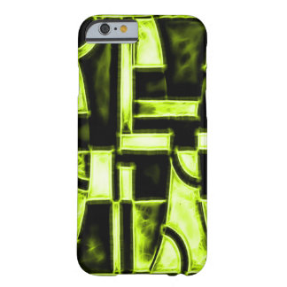 Egyptian Golden Sun Temple Fractal Barely There iPhone 6 Case