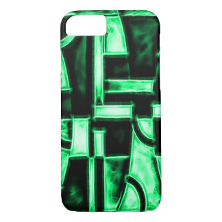 Egyptian Meridian Temple Fractal iPhone 8/7 Case