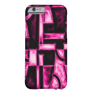 Egyptian Pink Temple Fractal Barely There iPhone 6 Case