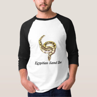 Egyptian Sand Boa Basic 3/4 Sleeve Raglan T-Shirt