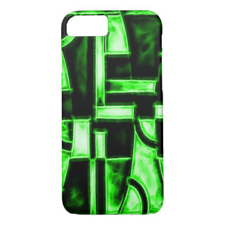 Egyptian Serpent Temple Fractal iPhone 8/7 Case