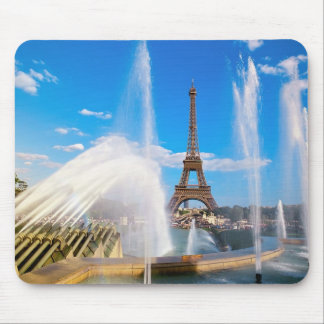 Eiffel Tower and Fountain, Paris, France Mouse Pad