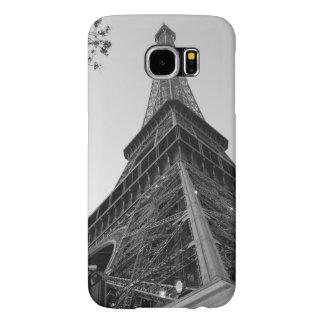 Eiffel Tower b/w Samsung Galaxy S6 Cases