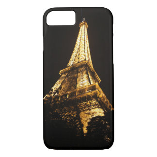 Eiffel Tower by night iPhone 8/7 Case