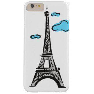 EIFFEL TOWER FREE HAND BARELY THERE iPhone 6 PLUS CASE