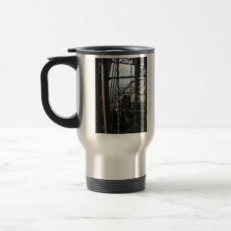 Eiffel Tower Gears Travel Mug