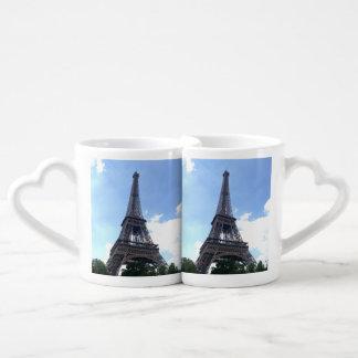 Eiffel Tower in Paris Coffee Mug Set