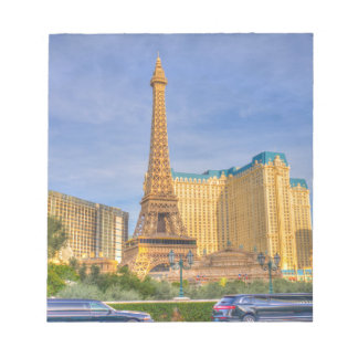 Eiffel Tower Las Vegas Paris Limousine Nevada Notepad