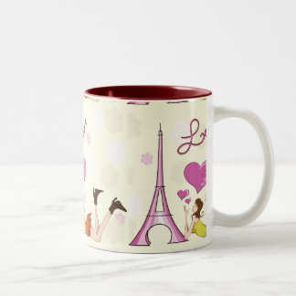 EIFFEL TOWER LOVE MUG