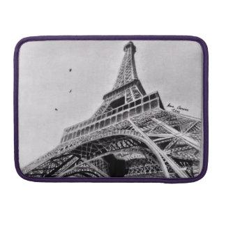 "Eiffel Tower Macbook Pro 13"" Sleeve"